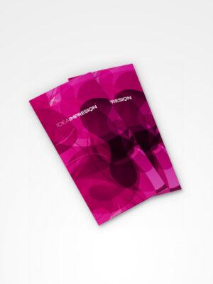 Dípticos DL · 1000 unidades | Imprenta offset | Impresión offset