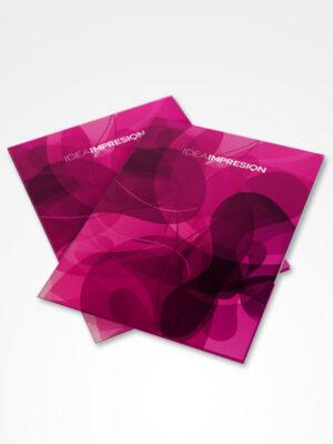 Carpetas Corporativas · 500 unidades | Imprenta offset | Impresión offset
