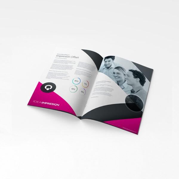 Catálogos DIN A5 · 250 unidades | Imprenta offset | Impresión offset