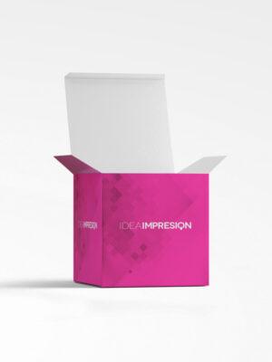 Cajas plegables S, embalaje, cajas cubo